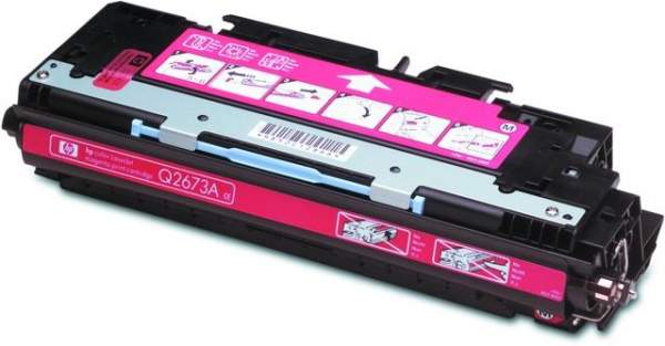 Toner HP Q2673A magenta 4.000 Seiten f. LaserJet 3500