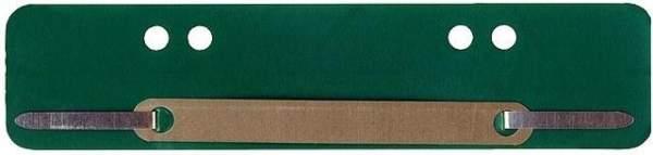 Heftstreifen PP Metalldeckleiste kurz 34x150mm grün 100St.