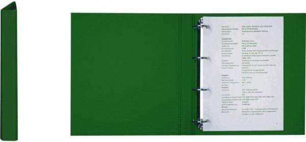 Ringbuch A4 4-Ring-Reißmechanik Ring-Ø 25 mm grün / 1 St.