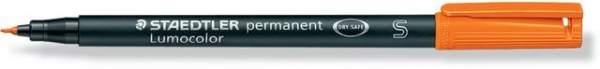 Projektionsschreiber OHP-Stift Lumocolor 313 perm S 0,4mm orange
