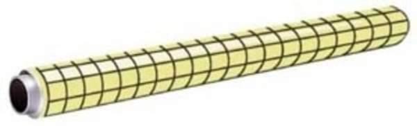 Flipchartfolie Leitz 7055 EasyFlip® kariert 60cmx20m PP-Folie weiß 1 Rolle