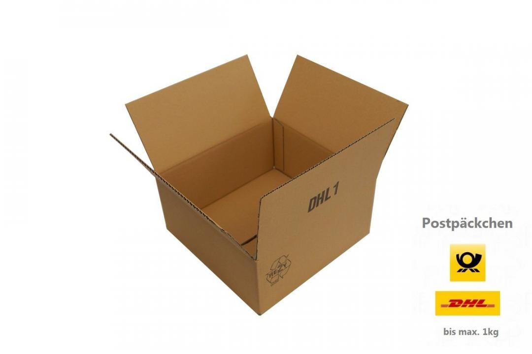 300x300x150 mm einwellige post dhl kartons f r p ckchen xs. Black Bedroom Furniture Sets. Home Design Ideas