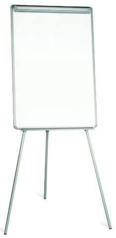 Flipchart Business 3-Beinstativ magnetisch 70 x 100 cm weiß