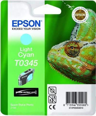 Tintenpatrone Epson C13T03454010 hellcyan 17ml 440 Seiten