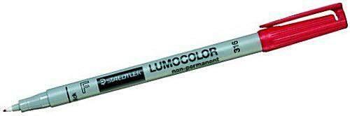 Projektionsschreiber Lumocolor 316 wlös F rot (1 Stück)