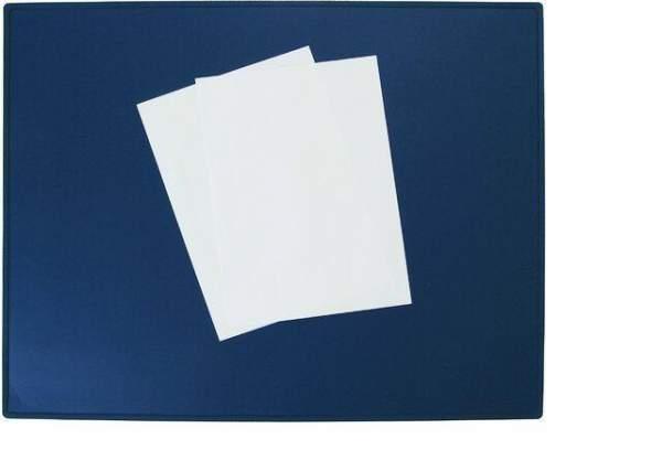 Schreibunterlage 63x50cm Kunststoff blau