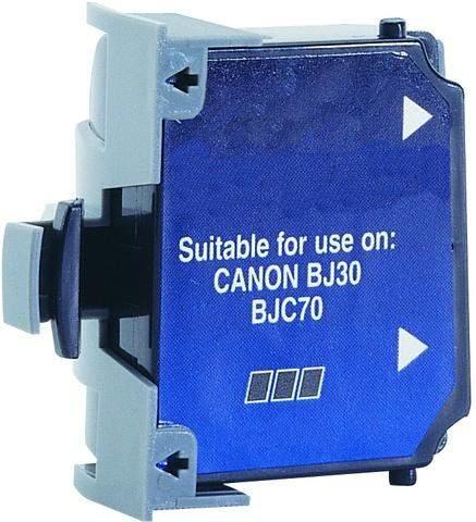 Tintenpatrone für Canon BCI10eBK kompatibel (Pckg. á 3 Stück)