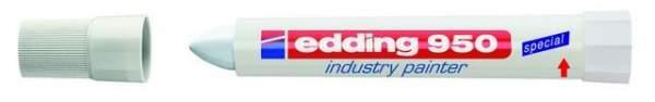 Spezialmarker Edding 950 industry painter 10 mm weiß / 1 St.