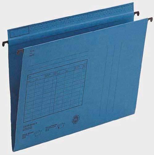 Hängemappe Leitz 1815 Serie 18 A4 320g seitlich offen blau