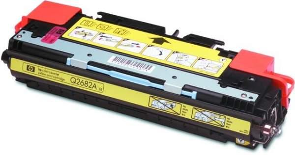 Toner HP Q2682A gelb yellow 6.000 Seiten für LaserJet 3700