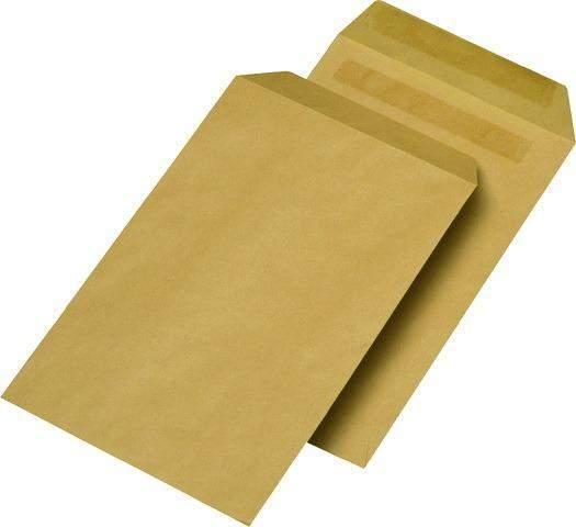 Briefumschläge C5 ohne Fenster braun 80g sk 50 Stück