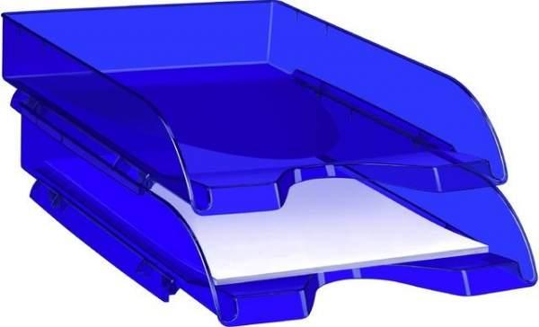 Briefkorb CepPro Happy PS A4 260x345x64mm blau