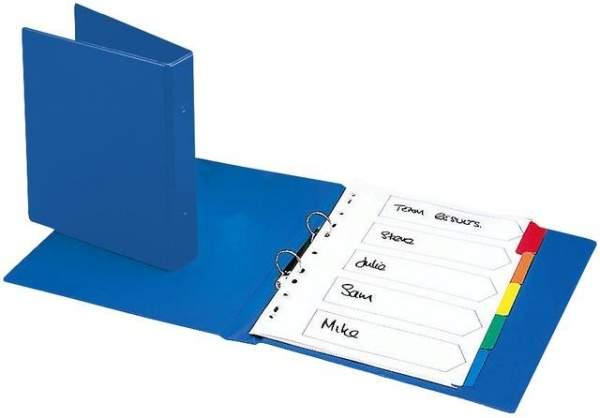 Ringbuch A5 2-Ring-Reißmechanik Rückenbreite 40mm Blau