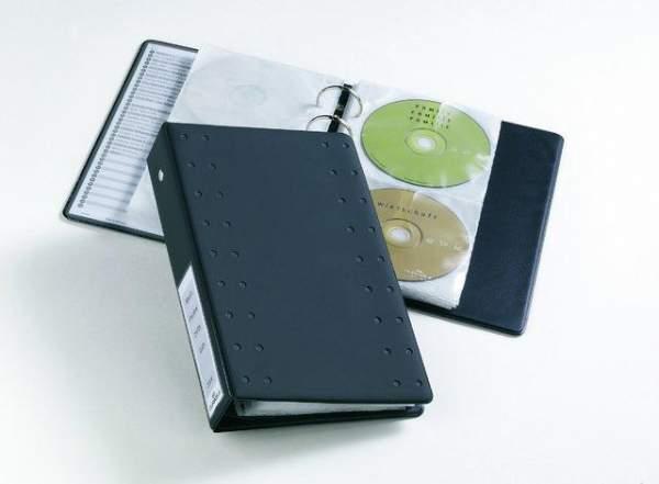 CD-Ringbuch DURABLE CD/DVD INDEX 20 A5 für 20 CDs anthrazit