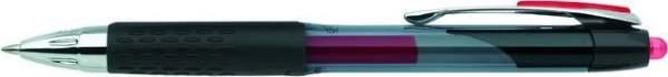 Gelschreiber SigNo UMN-207 Druckmechanik uni-ball 0,4mm rot