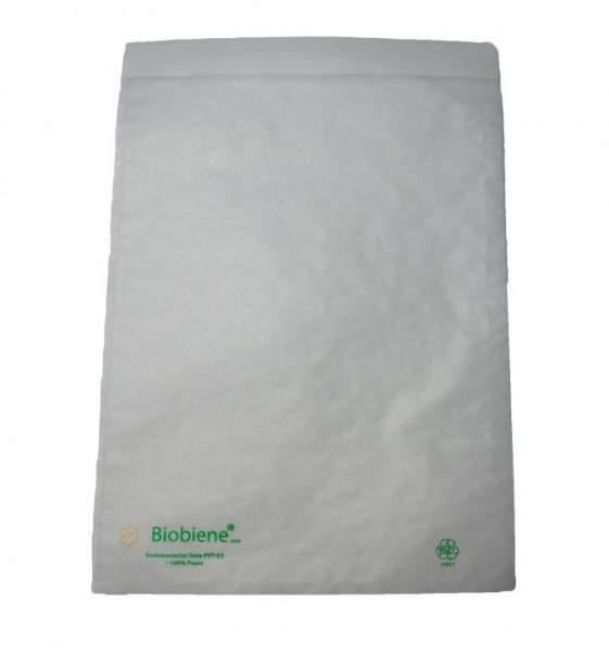 umweltfreundliche Versandtasche Papier transparent