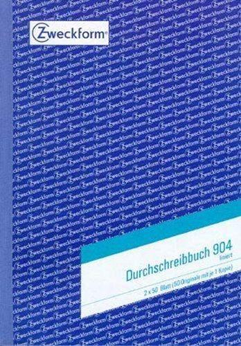 Durchschreibebuch Zweckform 904 A5 2x50 Blatt liniert