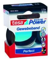 "Gewebeband Tesa ""Extra Power"" 2,75m x 38mm schwarz"