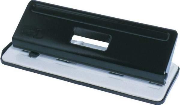 Locher Mehrfachlocher 4 Lochsegmente 80x80x80mm schwarz grau