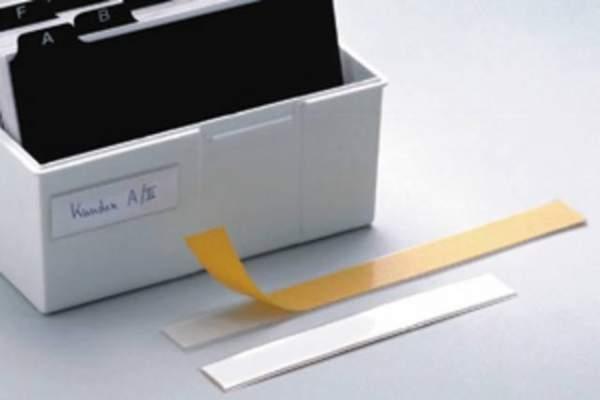 Beschriftungsfenster Schildfix® sk 200x15mm / 1 Pckg. á 10 St.