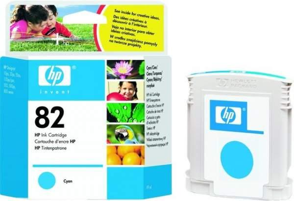 Tintenpatrone HP Nr. 82 C4911A cyan 69 ml