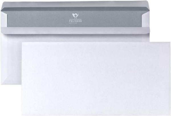 Briefumschlag DL weiß ohne Fenster sk Pckg.= 25 Stück