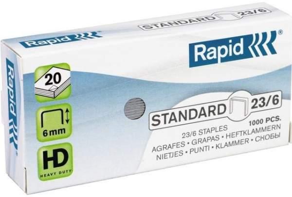 Heftklammern 23/8 verzinkt Rapid (VE=1000 St.)