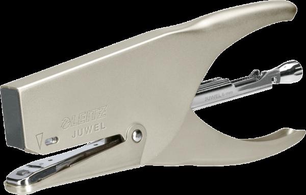 Heftzange Juwel 3000 für Juwel + Juwel 6mm 30 Blatt Nickel Chrom
