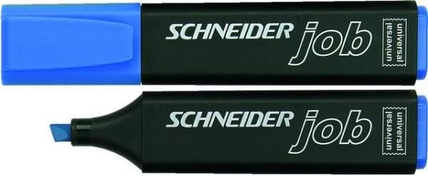 Textmarker Highlighter Schneider JOB 150 blau