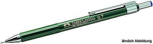 Druckbleistift Faber Castell TK Fine 9719 - 1,00mm HB Mine und Radierer