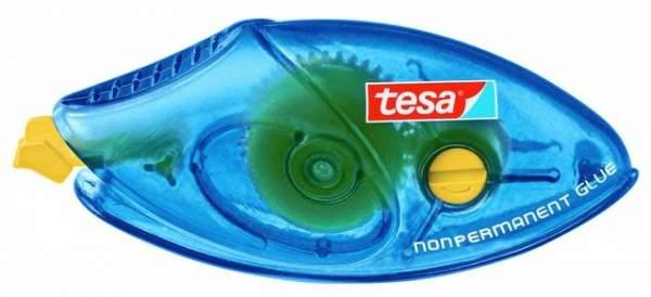 Kleberoller Tesa ablösbar 8,4mmx8,5m NON-PERMANENT GLUE Einweg