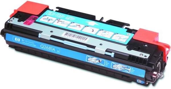 Toner HP Q2681A cyan 6.000 Seiten für LaserJet 3700