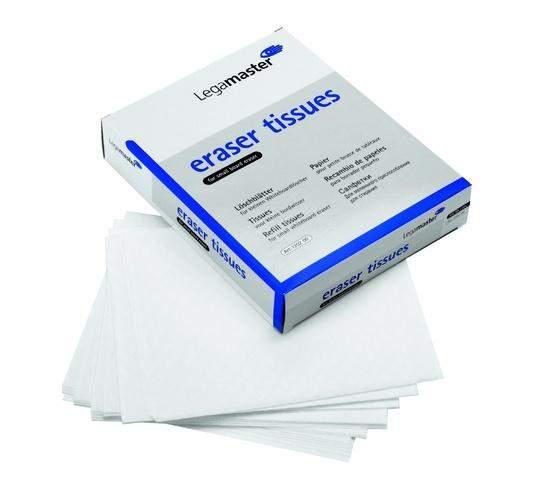 Löschpapier für Tafellöscher Legamaster Schachtel á 100 Blatt