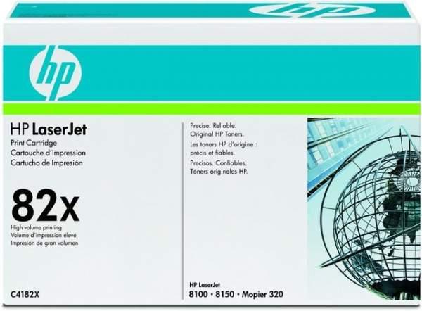 Toner HP 82X C4182X schwarz 20.000 Seiten f. LaserJet 8100