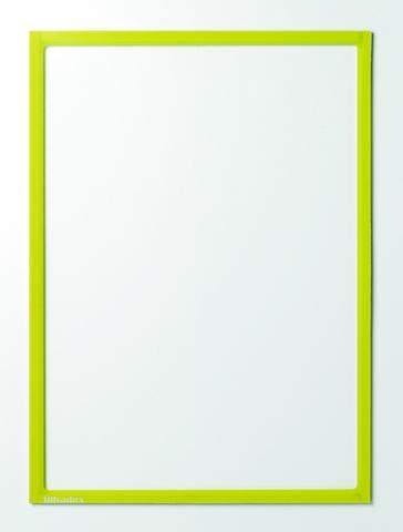 Infotaschen magnetisch DIN A4 312x225mm gelb VE= 5 Stk.