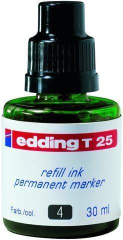 Nachfülltusche Edding T25 30 ml f. Permanentmarker grün 1 Fl.