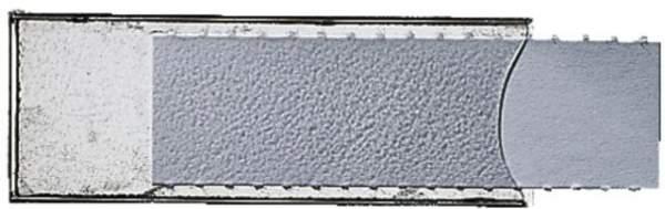 Beschriftungsfenster Leitz 6004 sk 53 x 19 mm Pckg. á 50 St.