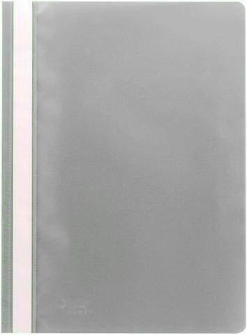 Schnellhefter Sichthefter PP-Folie A4 grau / 1 Stück