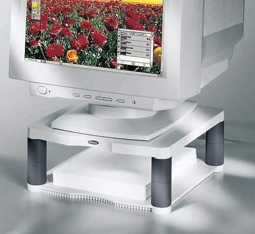 Monitorständer Fellowes Premium 34,3x33,3cm Tragf. 36 kg