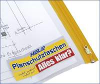 Planschutztaschen A2 44x62 cm PE-Folie transparent Pckg. á 10 St.