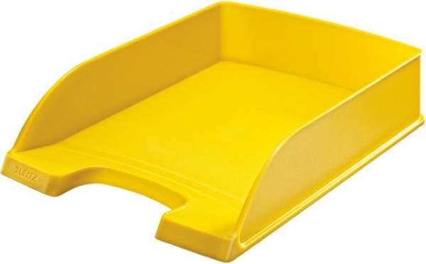 Ablagekorb Leitz 5227 Plus für DIN A4 und Folio gelb