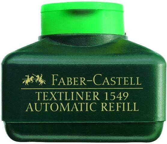 Nachfülltusche Faber Castell 1549 Textliner-Automatic 30ml grün