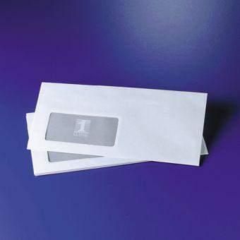 Briefumschläge DIN lang DL sk mit Fenster (100 Stück)