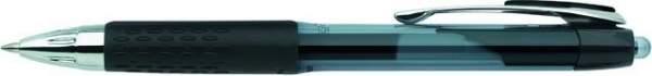 Gelschreiber SigNo UMN-207 Druckmechanik uni-ball 0,4mm schwarz