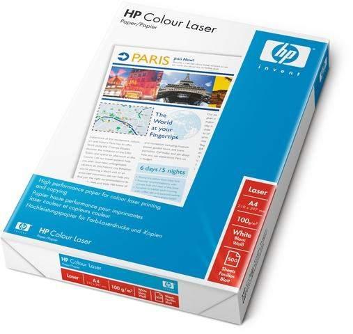 Kopierpapier A4 100g Laserpapier HP Colour Laser weiß (500 Blatt)