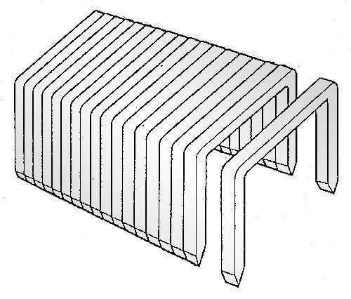 Heftklammern 53/6 verzinkt NOVUS (VE=2000 St.)