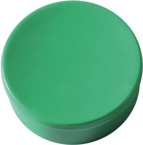 Magnet rund Ø 35mm Haftkraft 2,5kg grün (Pckg. á 10 Stück)