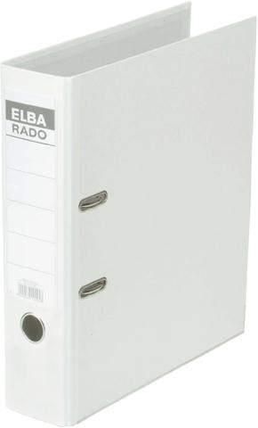 Ordner Elba Rado Brillant 10417 A4 Rückenschild einsteckbar weiss 8cm