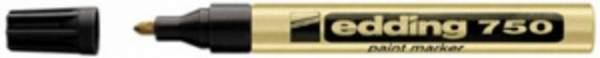 Lackmarker Edding 750 wasserfest gold