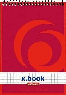 Spiralnotizblocks A6 50 Blatt holzfreies Papier 60g kariert